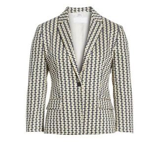 New BOSS Jerella Heartfish Stretch Cotton Jacket